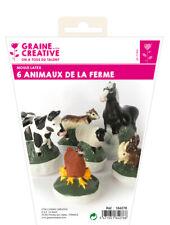 Silicone Mould Latex 6 Pets The Farm - Graine créative