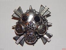 Steampunk pin badge brooch Dr Who gas mask scientist cyberpunk LARP