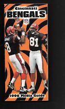 1996 CINCINNATI BENGALS NFL MEDIA PRESS GUIDE  NEAR MINT