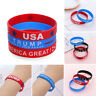 Trump 2020 President Silicone Wristband Keep Make America Great Bracelet Fashion