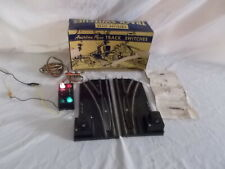 AMERICAN FLYER #720A REMOTE CONTROL SWITCHES & CONTROLLER & BOX LOT #L-204