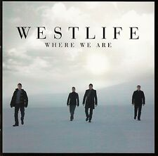 WESTLIFE : WHERE WE ARE / CD (SONY MUSIC 2009) - NEUWERTIG