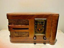 KL 50 Antique Art Deco Tabletop Radio- Canadian General Electric Co. Ltd. 1939
