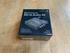 Blackmagic Design mini converter SDI to Audio 4K NEW SEALED
