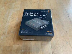 Blackmagic Design Mini converter Sdi to Audio 4K Nuevo Original