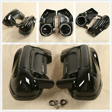 "6.5"" Speaker Box Pods Lower Vented Leg Fairings Fit For Harley Touring 1983-2013"