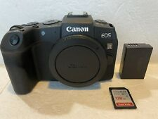 Canon EOS RP 26.2MP Mirrorless Digital Camera Body Mint Condition 4000 Clicks