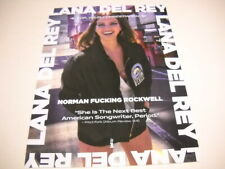 LANA DEL REY For Your Consideration NORMAN ...ROCKWELL 2019 Promo Poster Ad mint