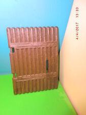 3023 Playmobil Fort Eagle 4072 reno 7936 3151 pieza de repuesto portón mitad Western