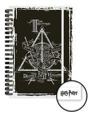 Harry Potter Deathly Hallows Note Book NBA0118 A5 taille 90 pages de Journal de l'école