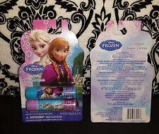 (2) Disney Frozen Lip Balm - 2 pack - Raspberry Blueberry Scented