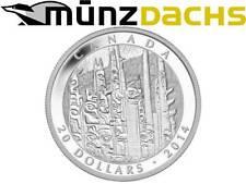 $ 20 Dollar Celebrating Emily Carr 1 oz fine silver Totem Forest Canada 2014