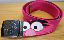 * Animal Pink Unisex BELT with Buckle TV Cartoon Show The Muppets