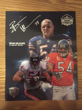LIMITED EDITION BRIAN URLACHER HOF HALAS HALL PHOTO SEASON TICKET HOLDER