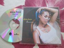 Alicia Keys – Karma (Edit) J Records BMG UK Promo CD single
