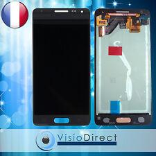 Ecran complet pour Samsung Galaxy Alpha G850 gris vitre tactile + ecran LCD