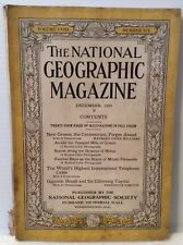 The National Geographic Magazine December 1930 Greece, Chile, Brazil