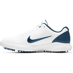 NIKE INFINITY G GOLF CLEATS MEN'S SIZE 13 WIDE. WHITE/NAVY CT0535 102 Greenfield