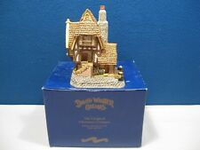 David Winter The Harbour Masters Watch House Seaside Boardwalk in Original Box