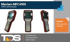 Used Meriam Mfc4100 Hart Field Communicator Includes Performance Test Cert