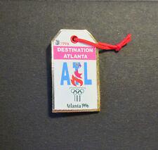 Luggage Tag pin - Destination ATL - Atlanta Centennial Summer Olympics