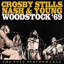 CROSBY STILLS NASH & YOUNG 'WOODSTOCK '69' CD (2nd Oct. 2020)