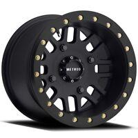 Method 406 Beadlock Matte Black ATV/UTV Wheel 15x8 4/137 - (4+4)