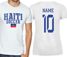 Haiti T-shirt Soccer Jersey any Sports Add Any Name and Number men's adults