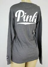 NWT VICTORIA'S SECRET PINK GRAPHIC LONG SLEEVE XSMALL +D351