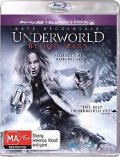 UNDERWORLD Blood Wars 3D (2016) Region Free [Blu-ray 3D/2D]