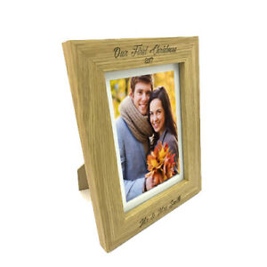 Personalised Photo Frame -Add any text & create a perfect keepsake- Any occasion