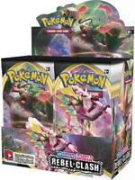 AUTHENTIC SWSH Rebel Clash SEALED Booster Box (36 Packs OFFICIAL Pokemon Cards)