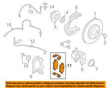 MINI OEM 14-17 Cooper Brake-Front Pads 34106863292