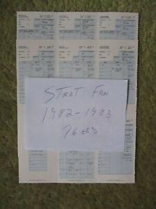 Strat Fan 1982-1983 Philadelphia 76er's Basketball Team::NBA Champions!(65-17).
