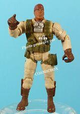 GI JOE figurine articulée soldat noir action figure HASBRO 2001 figurina figuren