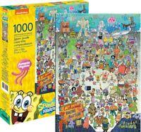Spongebob Squarepants Cast Jigsaw Puzzle, 1000 Pieces