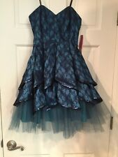 Blue/Turquoise Dress Size 3/4Morgan & Co. $168