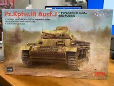 New ListingRyefield Model Rfm Rm-5070 1/35 Pz.Kpfw.Iii Ausf.J w/Workable track links