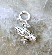Sterling Silver Praying Hand Charm fits European and Link Charm Bracelets - 1596