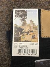 NUDIE JEANS GRIM TIM INDIGO CORD BRAND NEW WITH TAGS  RETAIL $149