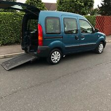 Renault Kangoo 2008 Auto Wheelchair Accessible Rear Ramp with history low miles
