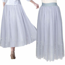 Unbranded Polyester Pleated Long Skirts for Women