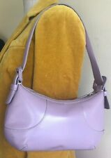 COLE HAAN WOMEN'S SMALL HOBO BAG LAVENDER LEATHER HANDBAG