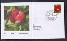 B 5203 ) Bund  2014 FDC -   Blumen: Pfingstrose (Paeonia sp.)