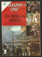 Clasicos Del Cine #118 55 Dias En Pekin Comic Spanish Mexican Novaro 1964
