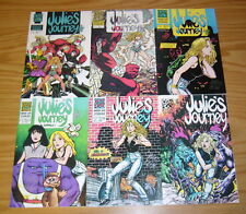 Julie's Journey #1-6 VF/NM complete series - signed by david keye 2 3 4 5 comics