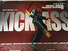 Kick Ass Original Uk Quad Poster