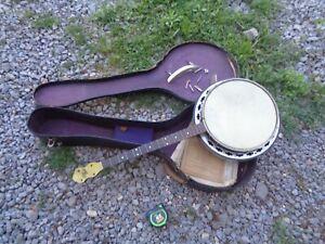 vintage slingerland May Bell banjo