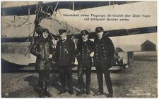 Sanke AKMannschaft zweier Flugzeuge..., Sanke Postkarte Nr. 350, echt ge #8265