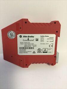 NEW ALLEN BRADLEY 440R-D23201 SERIES B MSR35H GUARDMASTER SAFETY RELAY 24VDC